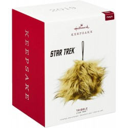 STAR TREK pluche Tribble...